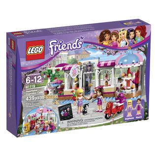 LEGO Friends Heartlake Cupcake Café 41119   Toys & Games   Blocks