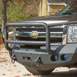 Road Armor Stealth Base Front Bumper With Lonestar Guard 2008 2010 Chevy HD 2500/3500 431365