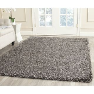 Safavieh New York Shag Brown Rug (8 x 10)   Shopping