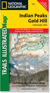 Trails Illustrated Indian Peaks/Gold Hill Trail Map