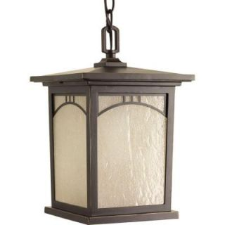 Progress Lighting Residence Collection 1 Light Antique Bronze Outdoor Hanging Lantern P6552 20