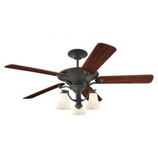 Sea Gull Lighting Somerton 56 in. Blacksmith Indoor Ceiling Fan 15170B 839