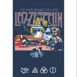 LED ZEPPELIN Song Remains The Same Poster Print (24 x 36)