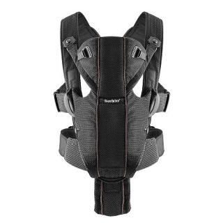 BabyBjorn Baby Carrier Miracle   Mesh, Black    BabyBjorn