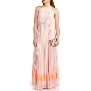 TED BAKER   Marryy pleated panel maxi dress