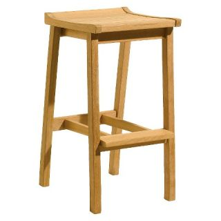 Oxford Garden Dartmoor Bar Stool   Natural Shorea