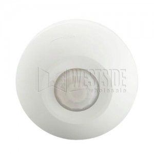 Leviton ODC0S I1W Motion Sensor, 360 Degree Ceiling Mount Occupancy Sensor, Commercial Grade, 120V   White