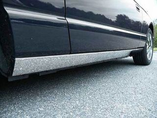 2002 2006 Ford Thunderbird Chrome Rocker Panels & Side Molding   ProZ TH43669   ProZ Rocker Panel Trim