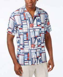 Newport Blue Mens Staycation Shirt   Casual Button Down Shirts   Men