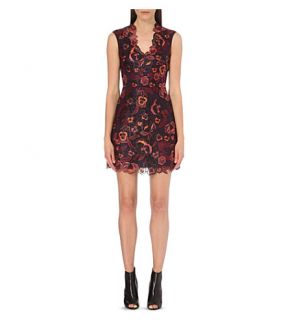 KAREN MILLEN   Embroidered floral dress
