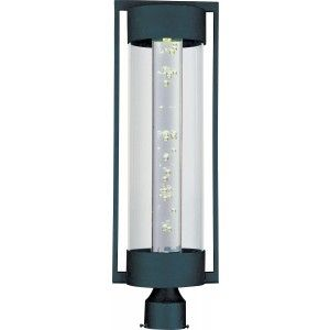 Maxim Lighting 88350CLTE LED Outdoor Lantern, New Age Pole/Post Mount   Textured Ebony