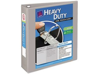 "Avery 79402 Nonstick Heavy Duty EZD Reference View Binder, 2"" Capacity, Gray"