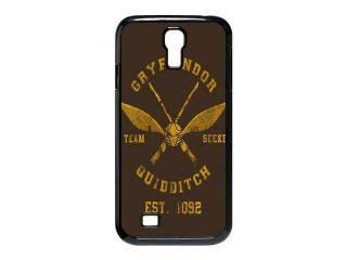 Creative Design Harry Potter Gryffindor Quidditch Background Case Cover for SamSung Galaxy S4 I9500  Personalized Hard Cell Phone Back Protective Case Shell Perfect as gift