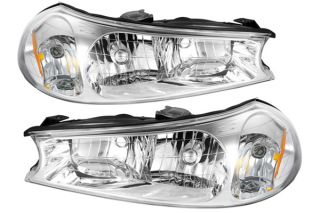 1998, 1999, 2000 Ford Contour Headlights   Spyder HD JH FCON98 C   Spyder Headlights
