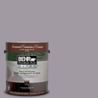 BEHR Premium Plus Ultra 1 gal. #N570 3 Art Nouveau Glass Eggshell Enamel Interior Paint 275401