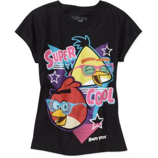 Angry Birds Girls' Graphic Tee