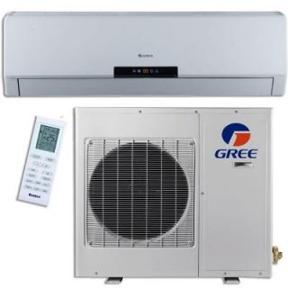 GREE Premium Efficiency 36,000 BTU (3 Ton) Ductless (Duct Free) Mini Split Air Conditioner   Inverter, Heat, Remote 208 230V NEO36HP230V1A