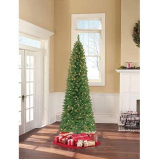 Holiday Time Pre Lit Brinkley Pine Artificial Christmas Tree