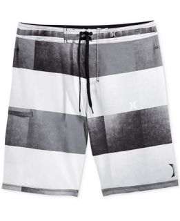 Hurley Mens Kingsroad Light Stripe Boardshorts   Swimwear   Men