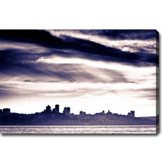 Stormy San Francisco Canvas Art   Shopping