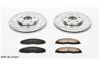 2003, 2004, 2005 Cadillac CTS Performance Brake Kits   Power Stop K1423   Power Stop Z23 Brake Kit