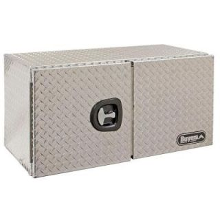 Buyers Products Company 60 in. Aluminum Barn Door Style Underbody Tool Box with T Handle Latch 1702250