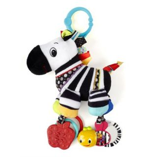 Bright Starts Start Your Senses Sensory Plush Pals Zebra