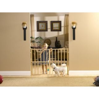 GuardMaster® III 478 Tall Wood Slat Pressure Baby and Pet Gate