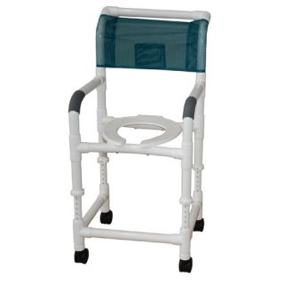 MJM International Standard Deluxe Adjustable Height Shower Chair