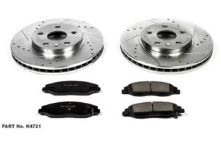 2008 2013 Cadillac CTS Performance Brake Kits   Power Stop K4721   Power Stop Z23 Brake Kit