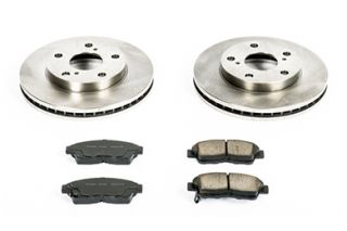 1992 2001 Toyota Camry Performance Brake Kits   Power Stop KOE1052   Power Stop OEK Ceramic Brake Kits