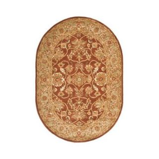 Safavieh Golden Jaipur Rust/Green Area Rug