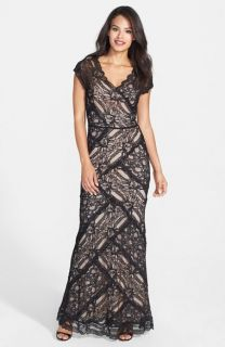 Nicole Miller Lace Gown