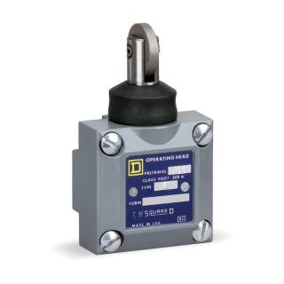 SQUARE D Limit Switch Head, Vertical, Actuator Location: Side, NEMA Rating: 4, 6P, 13   Limit Switch Heads   2EG54|9007F