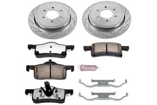 2002 2006 Ford Expedition Performance Brake Kits   Power Stop K1935 36   Power Stop Truck & Tow Brake Kit