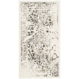 Safavieh Porcello Ivory/ Light Grey Rug (27 x 5)