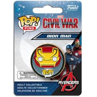 Marvel's Captain America Civil War POP Pins Iron Man