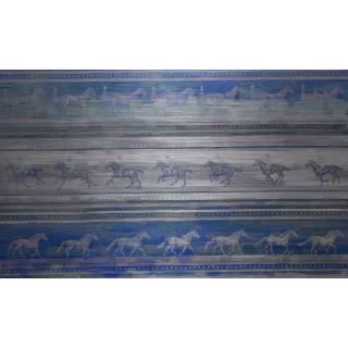 Marmont Hill On and Off Horses Aluminum Art   17164731