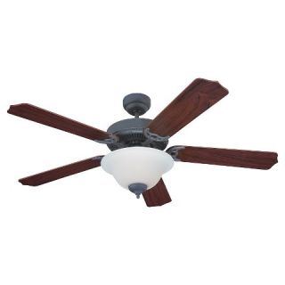 Sea Gull Lighting Ceiling Fan   Weathered Iron