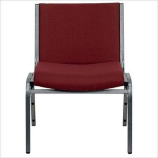 Flash Furniture Hercules Series 1000 lb. Capacity Big & Tall Extra Wide Burgundy Fabric Stack Chair   XU 60555 BY GG