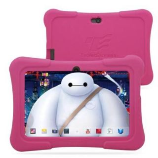 "Tablet Express Dragon Touch 7"" Android Kids Tablet   Pink   Pc Platform   1.2 Ghz Processor   512 Mb Ram   8 Gb   Quad Core Cpu   Safe Internet   For Kids And Parents   Hd Screen (y88xkidspk)"
