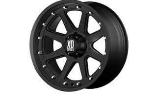 "XD Series XD79879064718   6 x 4.5"" Bolt Pattern Black 17"" x 9"" 798 Addict Matte Black Wheels   Alloy Wheels & Rims"