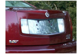2005, 2006, 2007 Cadillac CTS Chrome Kits & Packages   ProZ LP45250   ProZ Chrome License Plate Trim