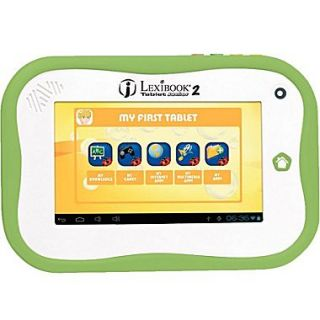 Lexibook Junior 2 MFC280EN, 7 Tablet, 4 GB, Android Jelly Bean, Wi Fi, White
