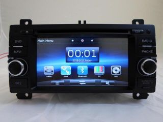 JEEP GRAND CHEROKEE 2013 K SERIES TOUCH SCREEN MULTIMEDIA NAVIGATION GPS RADIO IN DASH CD DVD BLUETOOTH DOUBLE DIN