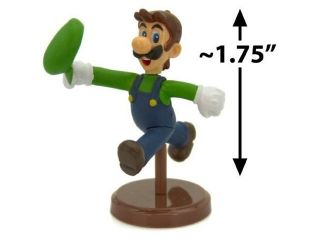 "Luigi ~1.75"" Mini Figure [Super Mario Choco Egg Mini Figure Selection Series   N"