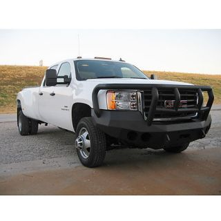Road Armor Stealth Base Front Bumper With Titan II Guard 2008 2010 GMC HD 2500/3500