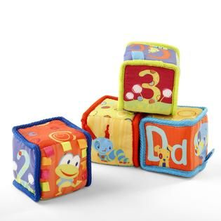 Bright Starts Grab & Stack Blocks   Baby   Baby Gear   Baby Toys