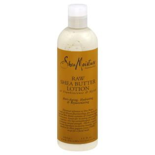 Shea Moisture Lotion, Raw Shea Butter, 13 fl oz (384 ml)   Beauty