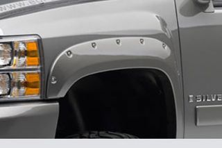 2007 2014 Chevy Silverado Pocket Style Fender Flares   EGR 791504F   EGR Bolt On Look Fender Flares